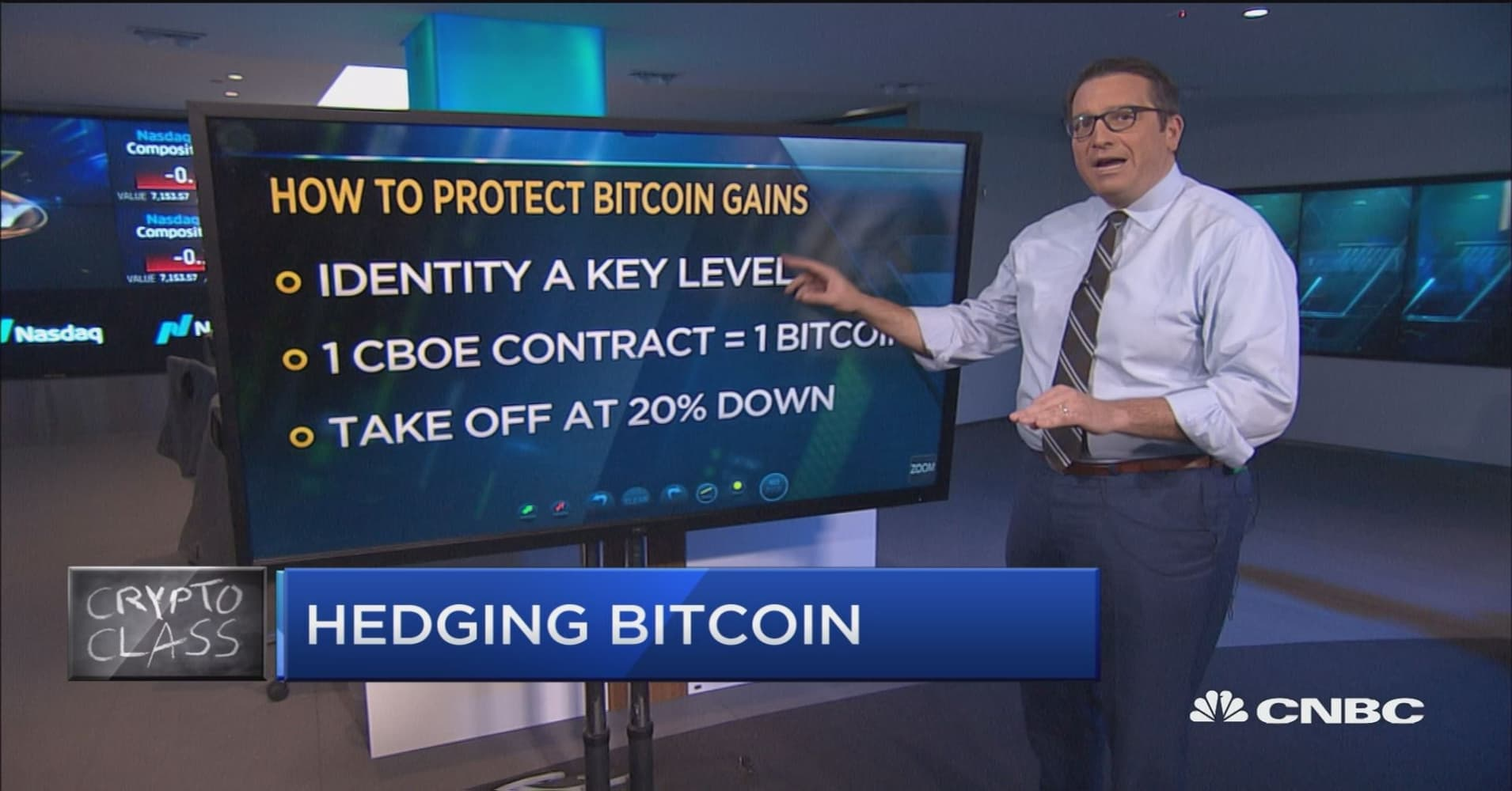 Crypto class: How to protect your bitcoin gains