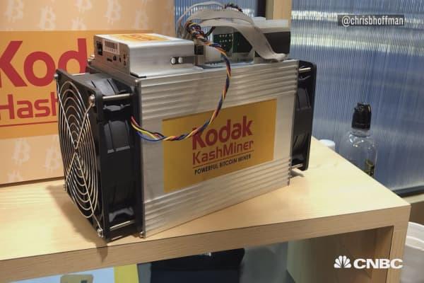 Meet the Kodak-branded KashMiner