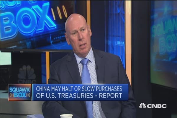 China has 'very little' option but to hold US Treasurys