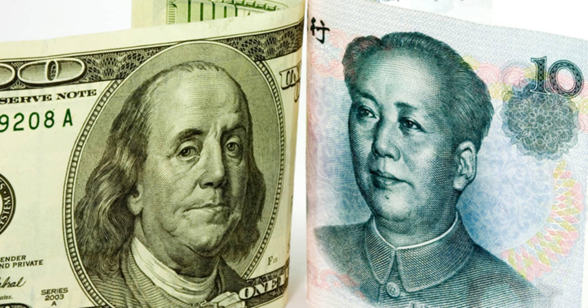 Market Awaits Trump Tweet On Strong Dollar As Chinas Yuan Weakens