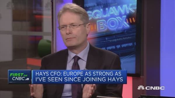 Brexit means UK firms are less likely to invest, Hays CFO