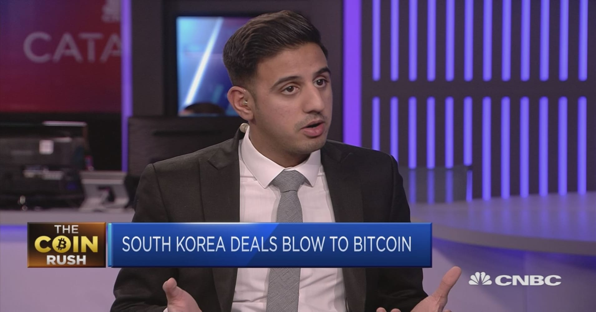 Bitcoin tumbles on talk of South Korea preparing a crypto trading ban