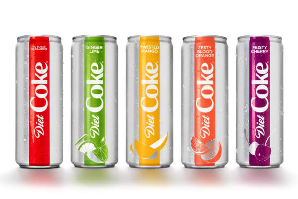 diet coke redesigned its cans with the help of a tiny british agency