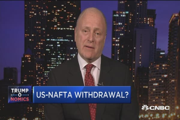 US playing 'Russian roulette' in Canada-NAFTA talks: Former US Ambassador to Canada