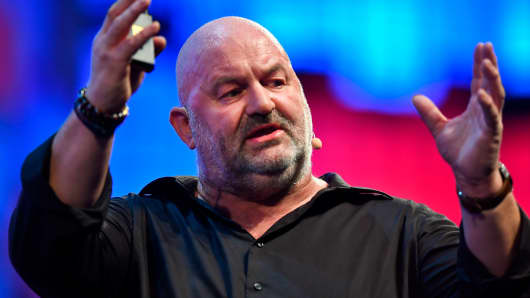 Amazon.com chief technology officer Werner Vogels
