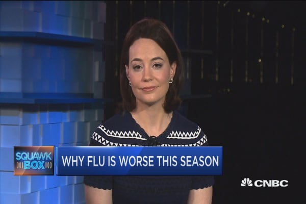 Widespread flu outbreak causing serious complications this year