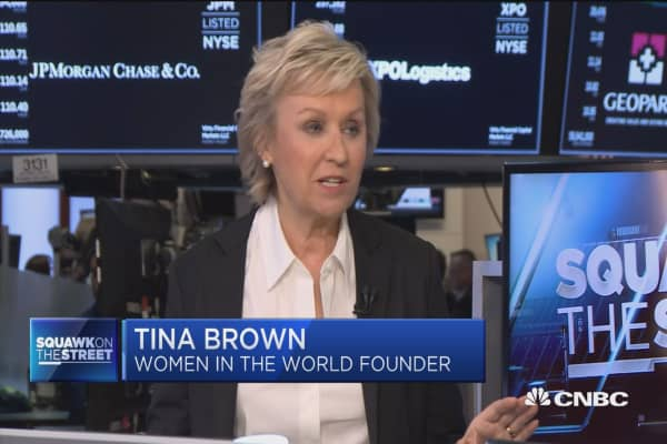 'Putting on the pressure' is the next step in combatting sexual harassment and equality: Tina Brown