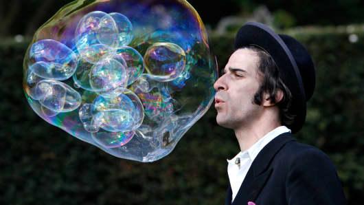 Bubble market