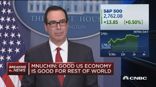 We expect NAFTA will be renegotiated or we'll pull out: Mnuchin