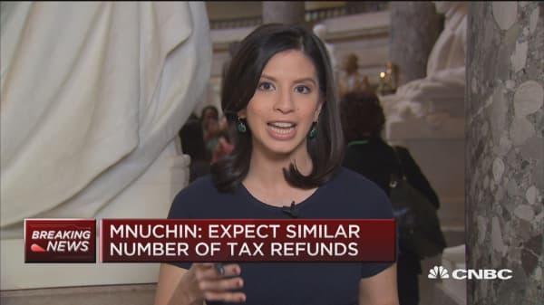 Mnuchin, taxes and the budget