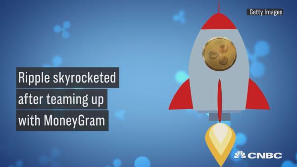 Ripple skyrocketed after teaming up with MoneyGram