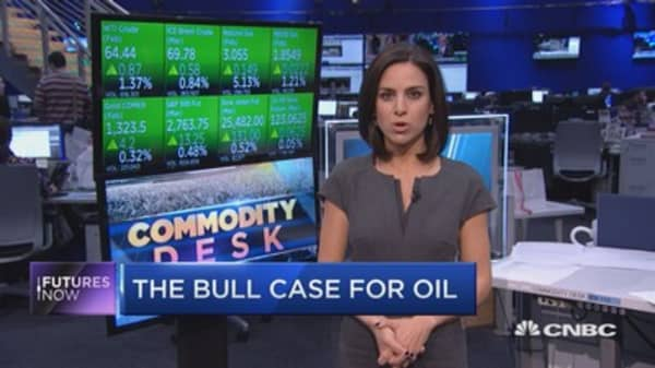 Crude oil to push towards $75 a barrel, says hedge fund manager Robert Raymond