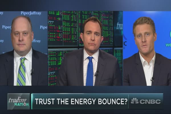 Two energy stocks to buy as the group leads the market