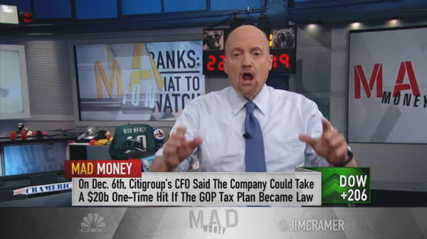 Cramer prepares investors for the big banks' Friday earnings reports