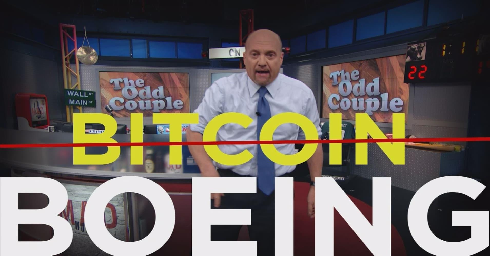 Cramer Remix: Why Boeing is a better bet than bitcoin