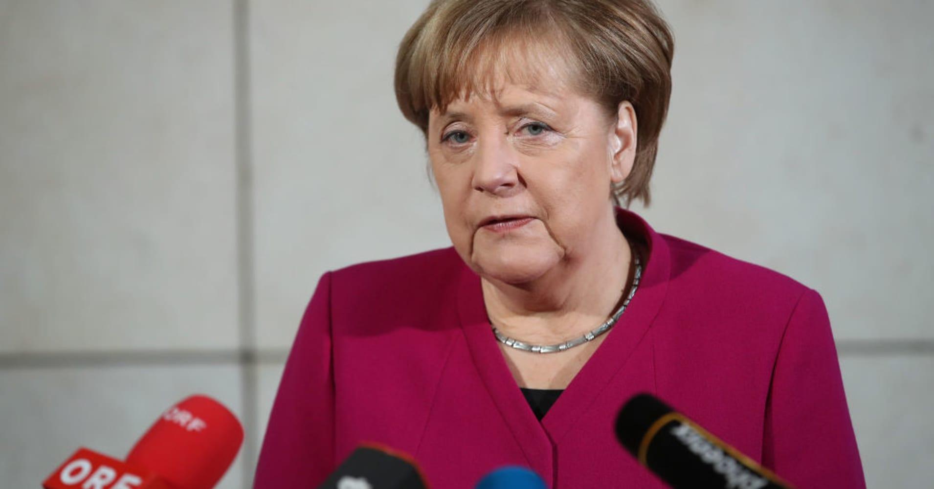Merkel's CDU votes on German coalition deal after new cabinet picks