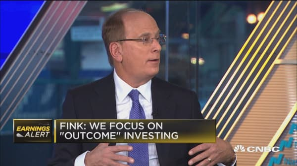 Tax bill should have totally elimated carried interest: BlackRock's Larry Fink