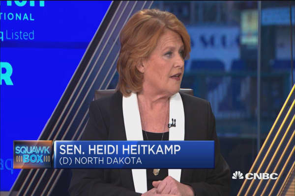 Sen. Heidi Heitkamp: We have to be realistic about funding infrastructure projects