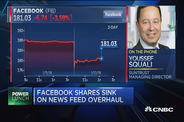 Facebook is in a position to do what's right for the user: SunTrust managing director