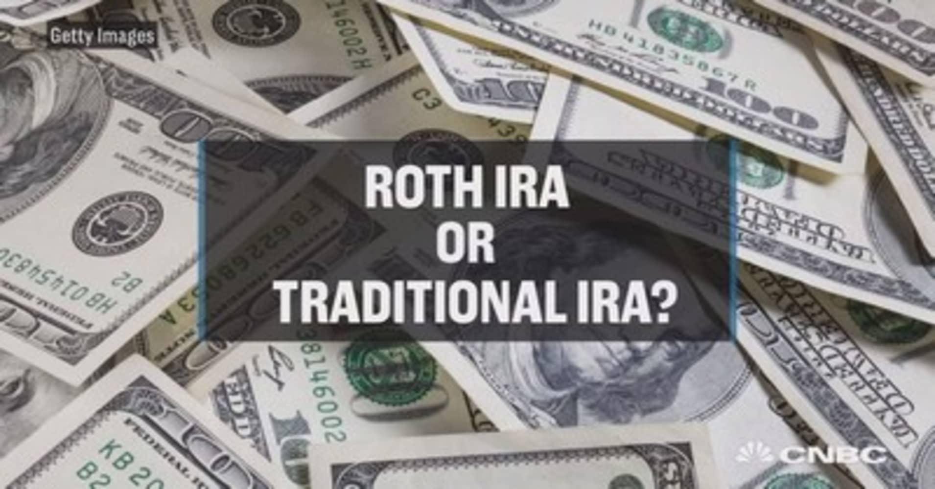 traditional ira versus roth ira