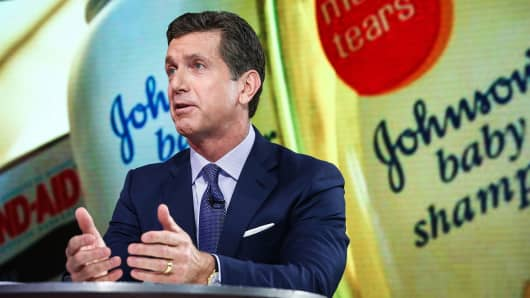 Alex Gorsky, chairman and chief executive officer at Johnson & Johnson.