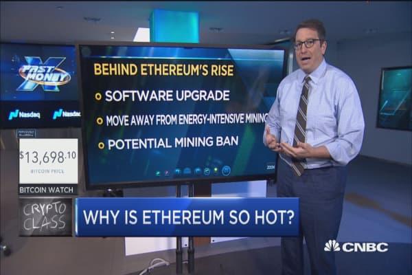 Trader breaks down ethereum's amazing run