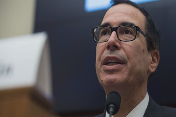 Treasury Secretary Mnuchin issues his concerns over cryptocurrencies