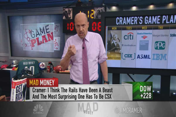 Cramer's game plan: JP Morgan set the benchmark. Now watch the banks