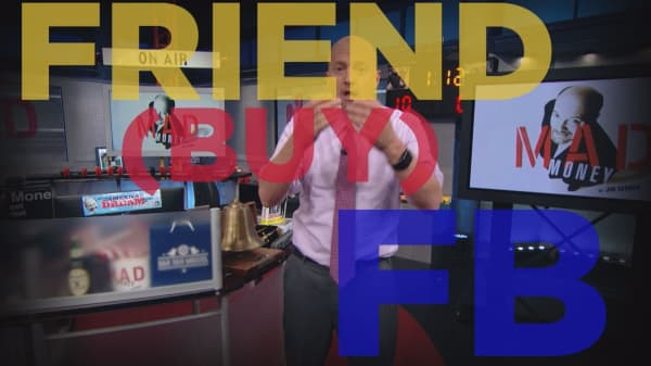 Cramer Remix: This is the day to buy Facebook