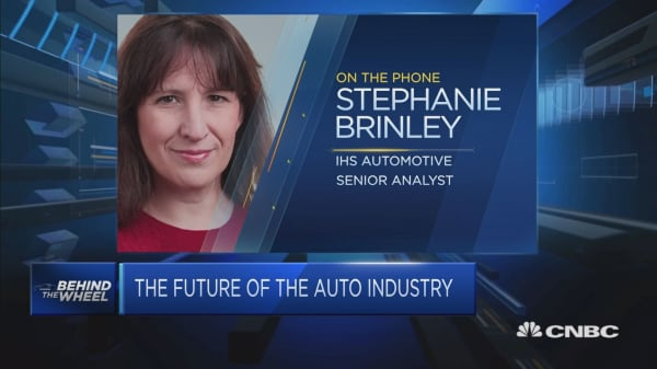 The Detroit auto show is focused on current sales more than future products