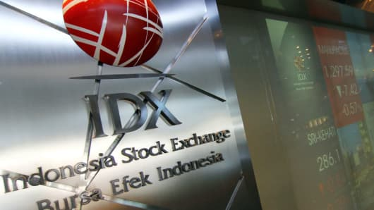 The Indonesia Stock Exchange is a stock exchange based in Jakarta, Indonesia.