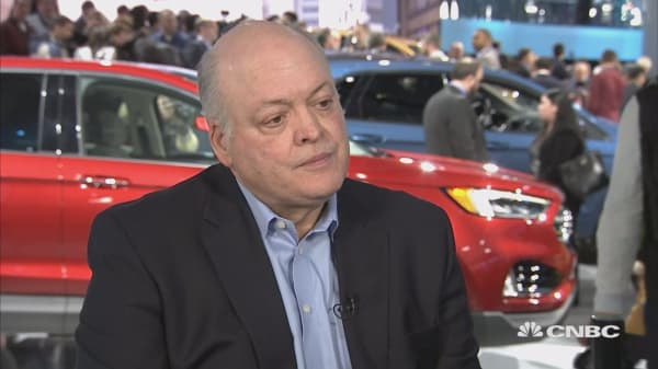 Ford CEO confident that repositioning the automaker will pay off