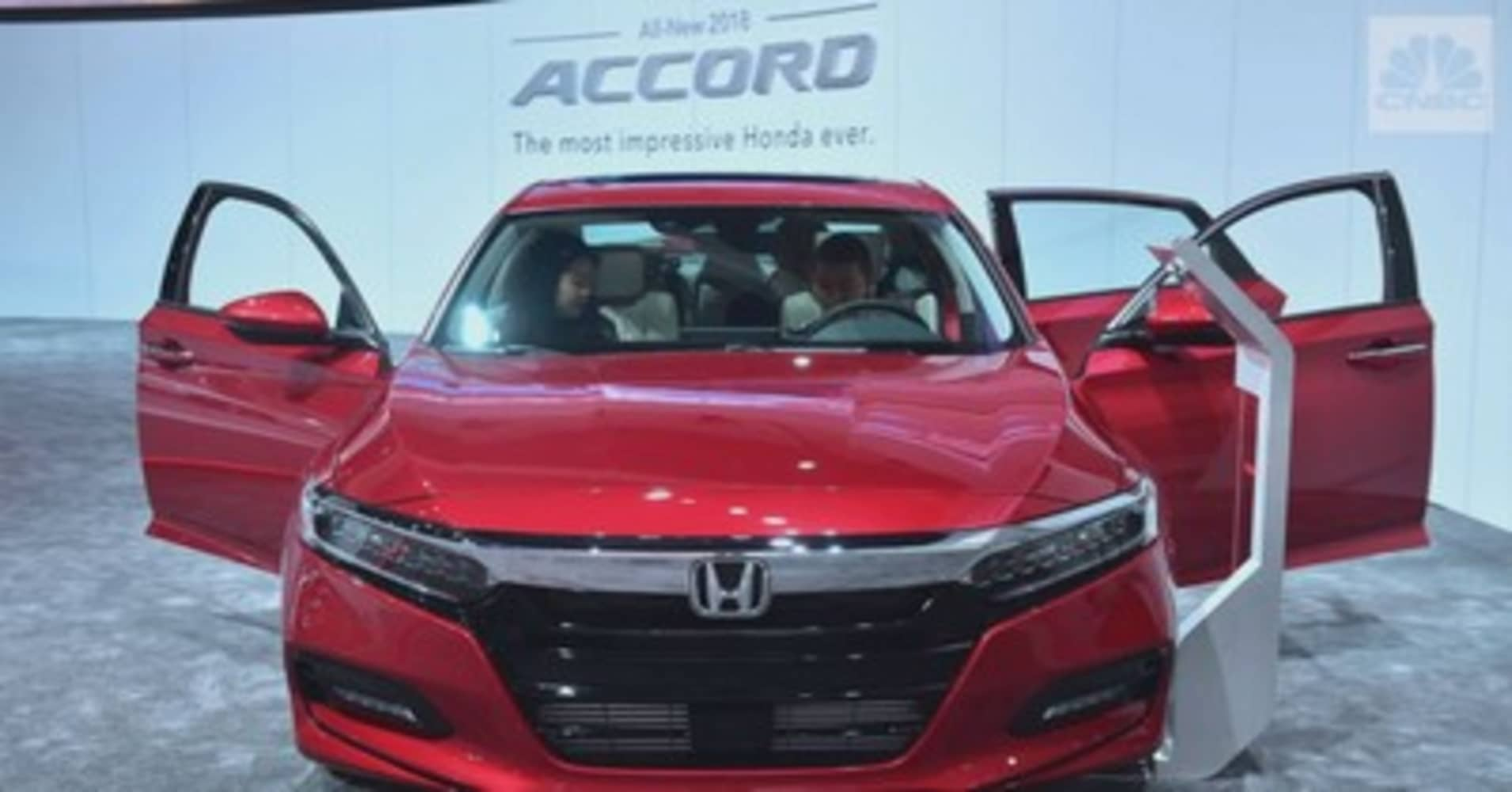 North American Car Of The Year Is Honda Accord - Accord vehicle