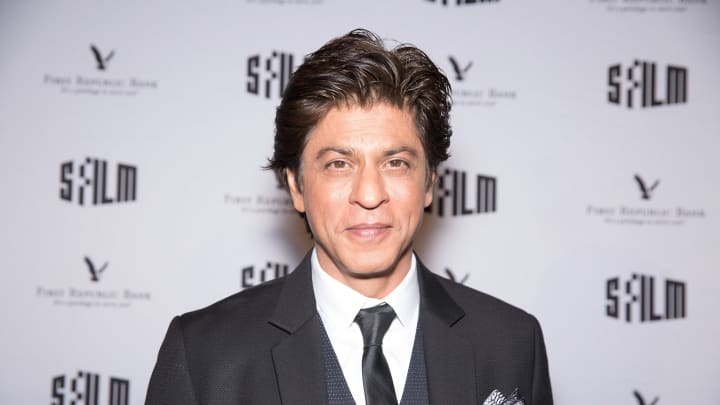 Actor and tribute recipient Shah Rukh Khan arrives at Tribute to Shah Rukh Khan at 60th San Francisco Intenational Film Festival at Castro Theatre on April 14, 2017 in San Francisco, California.