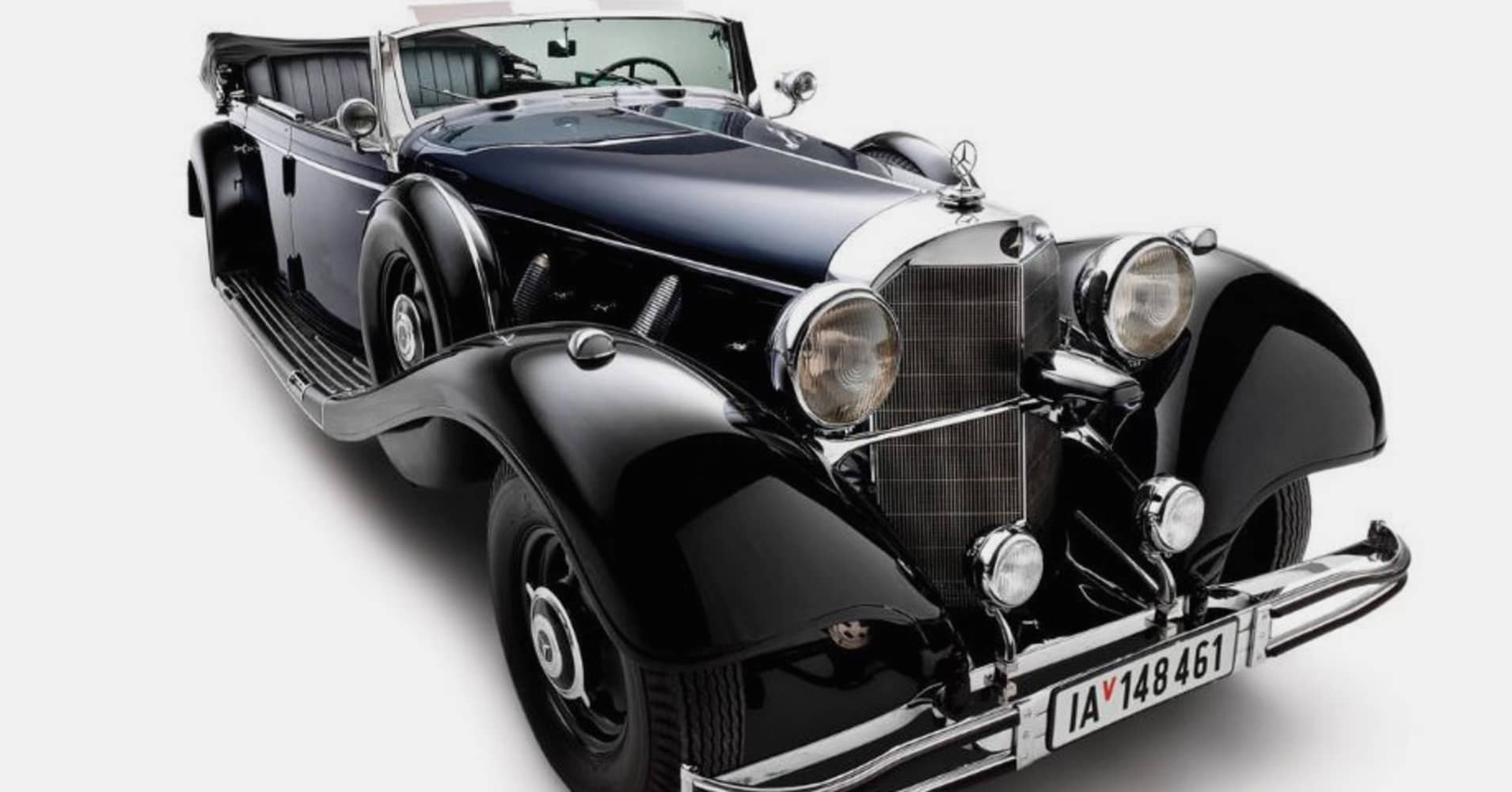 Hitler\'s wartime Mercedes car to be sold in Scottsdale, Arizona