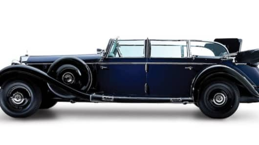 This Mercedes-Benz 770 Grosser Offener Tourenwagen was a product of design requirements laid down by Hitler and his primary chauffer, SS Officer Erich Kempka.