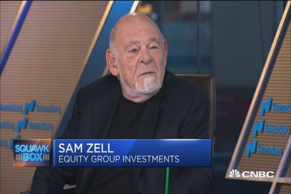 Billionaire Sam Zell: I think opportunity to reach 3-percent growth is real