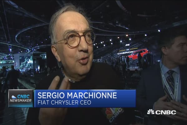 Fiat Chrysler CEO: Something will happen on NAFTA