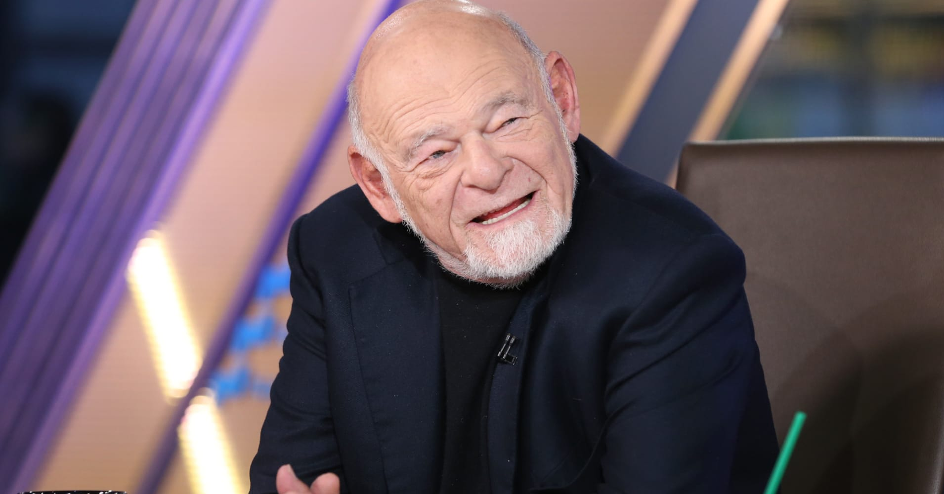Billionaire Sam Zell sees 'irrational exuberance' in the stock market and holds mostly cash