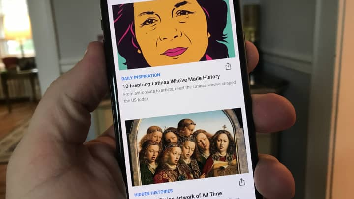 CNBC Tech: Google paintings 2