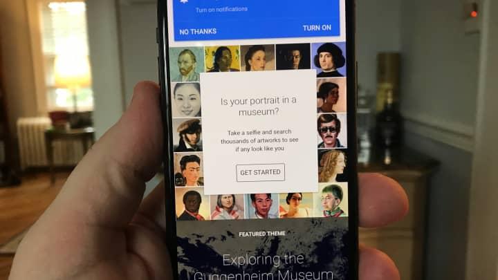 CNBC Tech: Google paintings 3
