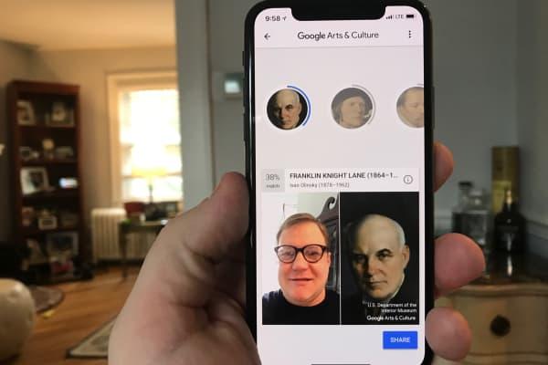 CNBC Tech: Google paintings 5
