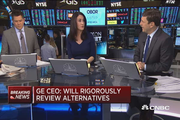 GE to examine ownership structure