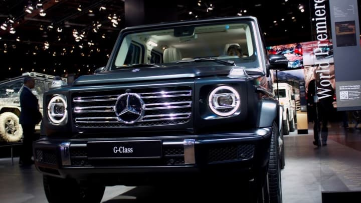 The Mercedes G Class