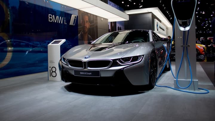The BMW i8 Coupe