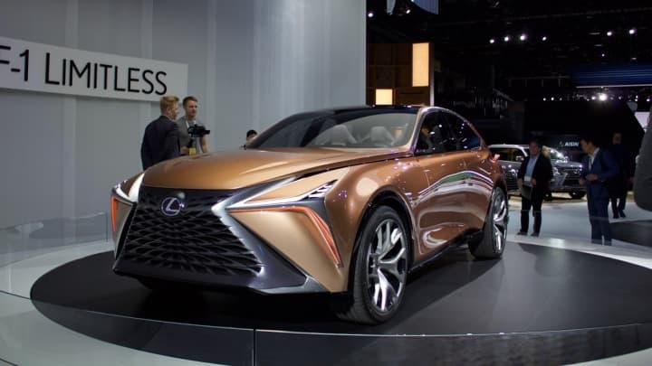 The Lexus F-1 Limitless