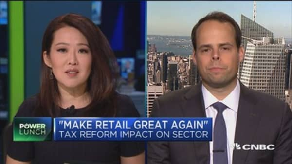 Analyst raises retail targets after tax plan