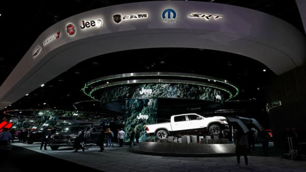 Pickup wars heat up at Detroit Auto Show