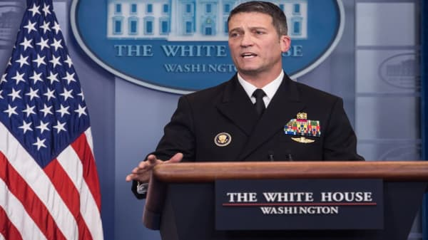 WH Physician: Trump has no cognitive, mental issues