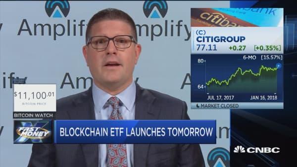 Blockchain ETF to launch Wednesday